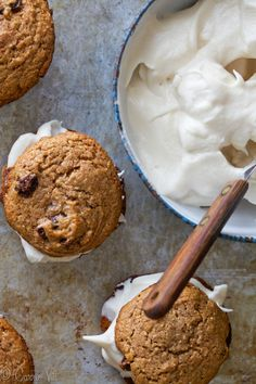 Grain-Free Oatmeal Cookies with Marshmallow Filling