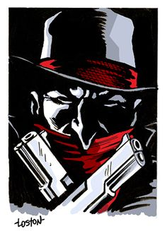 The Shadow Sketch by LostonWallace