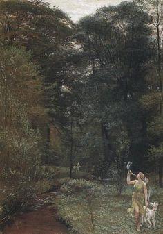 Walter Crane  British, 1845 - 1915  Diana  Date: 1881