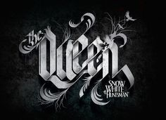 Typography :: Queen - Ravenna Licensing Program | Snow White and the Huntsman by Russ Gray, via Behance