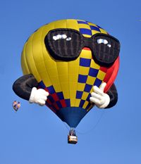 MidUSA Ohio Challenge Hot Air Balloon Festival ~ July 13-15, 2012 ~ Middletown, Ohio