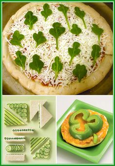 Green food for kids