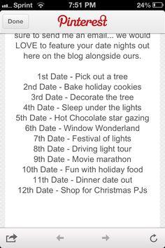 cute christmas date ideas