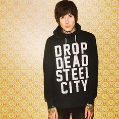 Steel city pullover #dropdead #newrange #steelcity #pullover #stayweird #olisykes Available tomorrow @ dropdead.co Photo by olobersykes