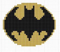 Bat-Signal cross stitch pattern. Free ($0).