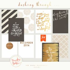 Oh Snap Boutique :: Project Life December Daily 2013 :: Project Life December Daily vol 1 Personal Use Only