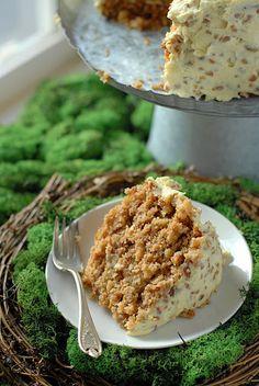 Hummingbird Cake. A perfect marriage between banana bread and carrot cake!