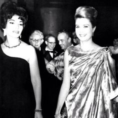 Maria Callas and Grace Kelly :)