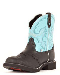 Women's Black Deercow Boot - L9905