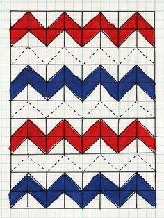 chevron quilt pattern