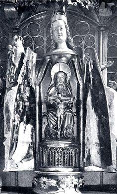 Pruska (Elbląska) Madonna Szafkowa przed 1945
