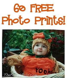 60 FREE Photo Prints! {just pay s/h} ~ get those cute pictures off your phone and camera!