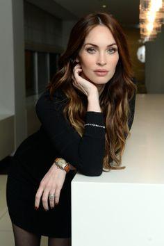 Megan Fox, Actress and the face of Avon Instinct fragrances wearing the Avon Empowerment Bracelet