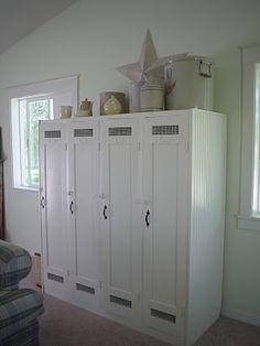 lockers - beautiful!