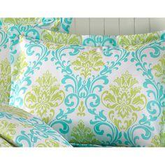 Paige/ Megan Full/ Queen-Size 4-Piece Comforter Set   Overstock.com