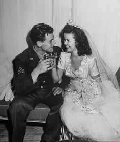 Shirley Temple's wedding