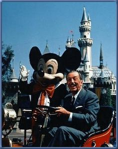 Disneyland - My favorite place growing up.  Thanks, Walt, for the many happy memories!!