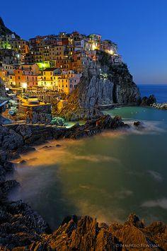 Manarola, Cinque Terre ~ Italy