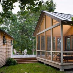 Mobile Home Porch Adds Such Nice Outdoor Living Space