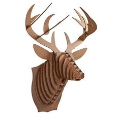 Giant Bucky Deer Trophy Brown now featured on Fab.