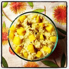 Crazy Sexy Kitchen's Mango  Coconut Millet #vegan #glutenfree #recipes #kriscarr #CrazySexyKitchen
