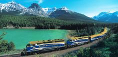 Cross country train trip...Canada.