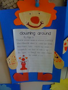 ou/ow clown writing!