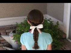 Double-Twist Ponytail | Easy Hairstyles