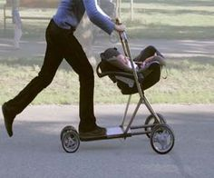 Baby stroller scooter gadgets