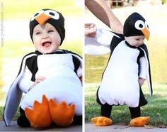 Halloween Kid Penguin Costume http://www.handimania.com/sew/halloween-kid-penguin-costume.html
