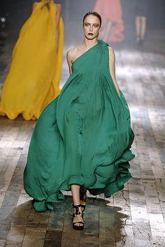 designer dresses, fashion, catwalk, 2008 readytowear, runway
