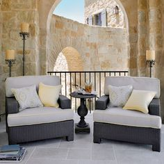 Its time to spruce up your outdoor space! #outdoorfurniture #outdoordecor