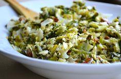 Brussel Sprout & Kale Salad