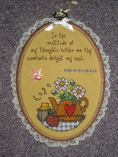 counted cross stitch