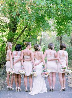 Bride and Bridesmaids | Laura Murray Photography | Bridal Musings