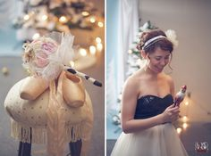 Sugar Plum Winter Wedding Inspiration, i like the use of the nutcracker! #nutcrackerwedding #weddingideas