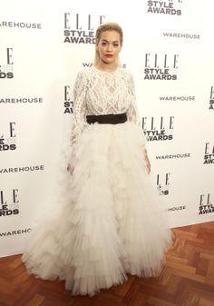 Rita Ora at the ELLE Style Awards 2014.