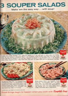 Why pick between soup and salad, when savory gelatinous goo will do?