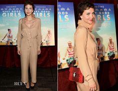 Maggie Gyllenhaal In Maison Martin Margiela – 'Very Good Girls' New York Premiere