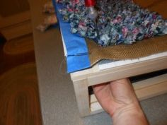 How to make a Proddy Rag Rug good directions I think