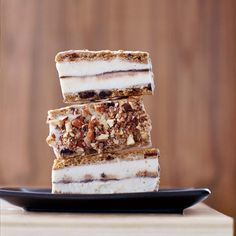 Chocolate Chip Cookie Ice Cream Bars // More Delicious Ice Cream Sandwiches: http://www.foodandwine.com/slideshows/ice-cream-sandwiches #foodandwine