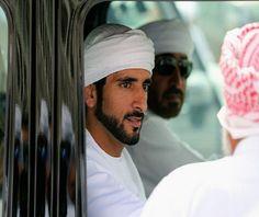 Sheikh Hamdan bin Mohammed bin Rashid Al Maktoum Crown Prince of Dubai during Dubai Camel Racing Festival 2014