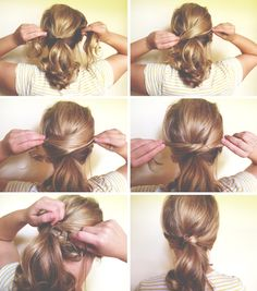 my billie: Hair Tutorial: Knotted Ponytail