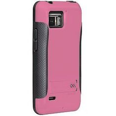 Case-mate Pop! Case for Motorola DROID Bionic XT875, Pink / Gray by Case-mate. Save 67 Off!. $9.99. The Case-mate Pop! Case for Motorola DROID Bionic brings a new standard to the power of two. Co-molded materials of plastic and soft rubber unite to create a hard case with a soft touch. The lightweight plastic body of the Pop! Case protects from unforeseeable impacts, while keeping your screen lifted away from surfaces. A built-in stand folds out for desktop viewing or remains flush f...