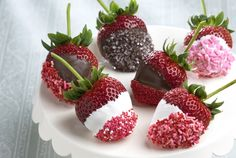 Driscoll's Chocolate Covered Strawberries with Sprinkles www.driscolls.com