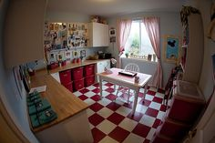 Craft Room and Office After by Ott to Get Organized, via Flickr