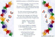 Asl: Translating vs interpreting