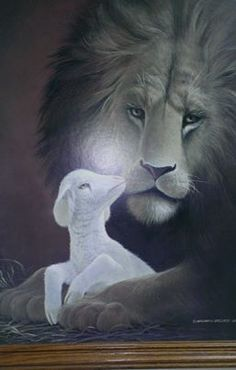 He's the Lion and the Lamb!