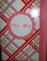 Phi Mu Card