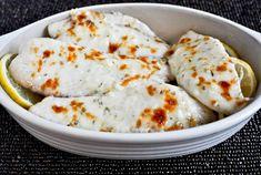 Easy Baked Parmesan Tilapia.